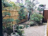 我が家の小さな庭園