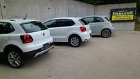 ①新車のクロスポロ ②ポロ ③フィアット500 白三連発!!!