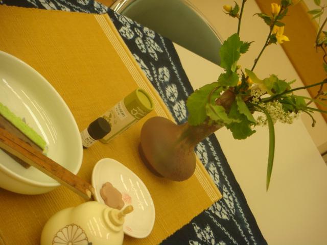 今日の茶花