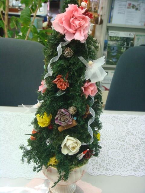 プリザのクリスマスツリー