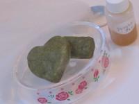 お抹茶で手作り石鹸