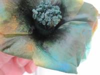 生花から作るプリザ・椿