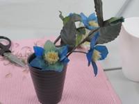 生花から作るプリザ・てっせん(クレマチス)