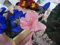 生花から作るプリザ・なでしこ
