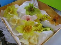 生花から作るプリザ・ラッパ水仙