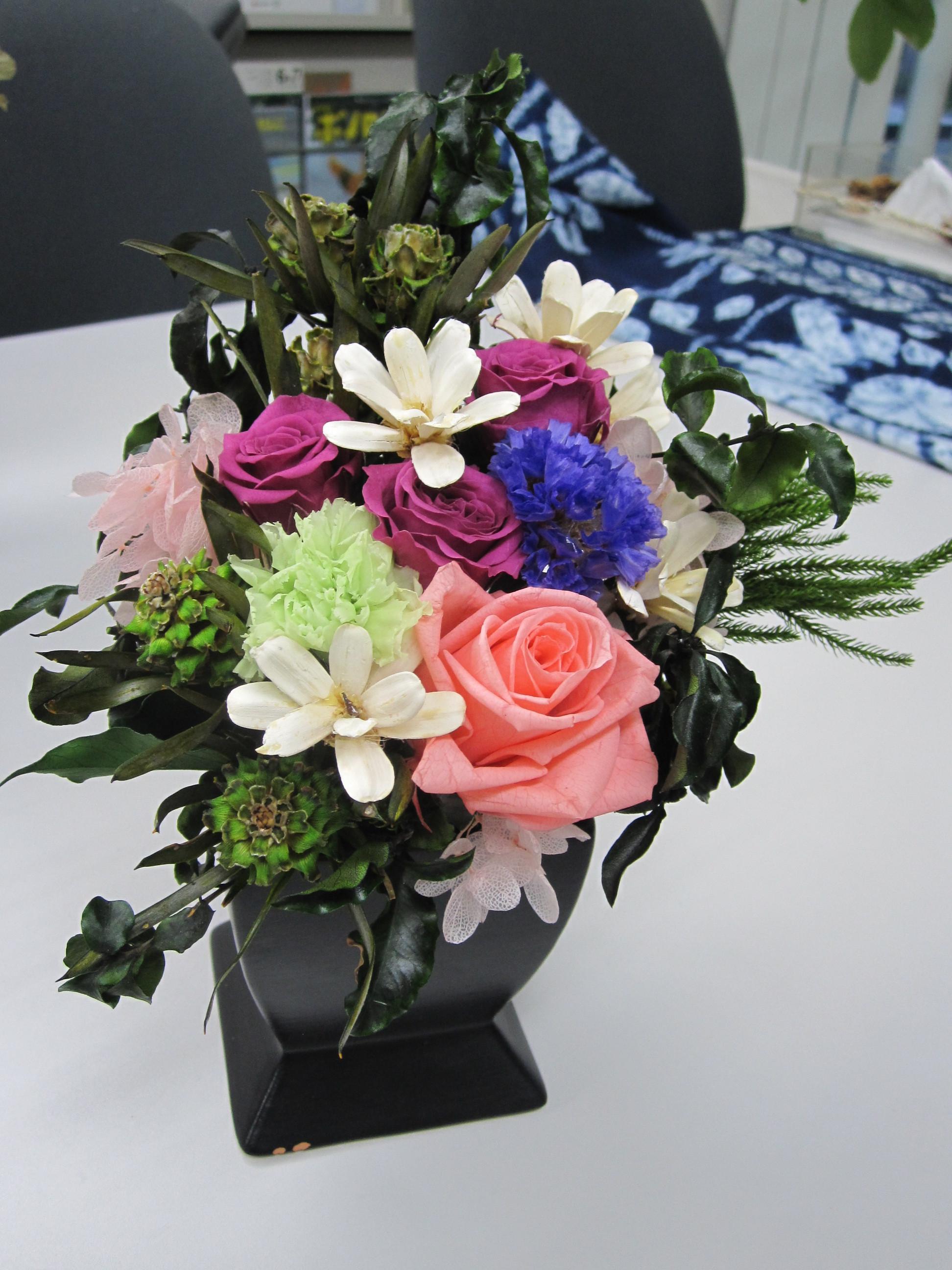 プリザーブドフラワー・仏花