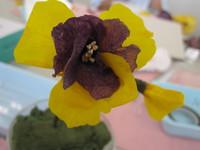 生花から作るプリザ・生徒様作品