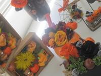 生花から作るプリザ・ハロウィン
