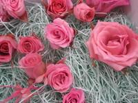 生花から作るプリザ・生徒様のお花