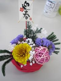 生花から作るプリザ・体験
