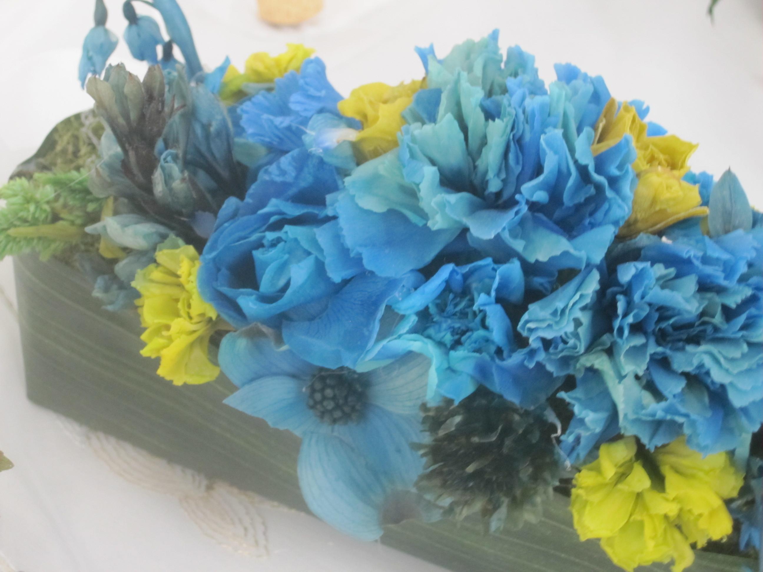 生花から作るプリザーブド・作品展より