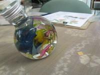 ハーバリウム・サークルボトル
