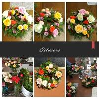 カラフルなお花でボリュームたっぷりのリースアレンジレッスン