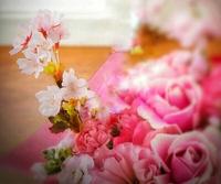 【募集】桜のフラワーアレンジレッスン~豊田市フラワー教室