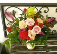 【募集】秋のお花と長持ちするお花で!9月生花レッスン