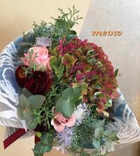 お誕生日の花束