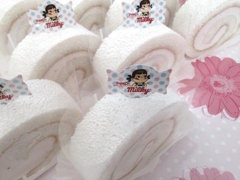 ペコちゃんの不二家岡崎大樹寺店では《ロールケーキの日限定スイーツ》販売中です!