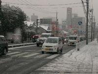 大雪のハプニング