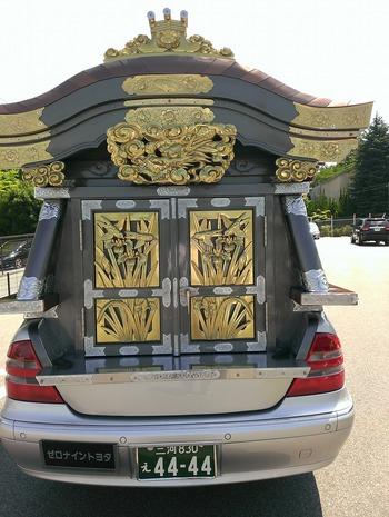歴史価値!? 宮型霊柩車