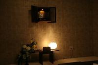 壁掛けのお仏壇