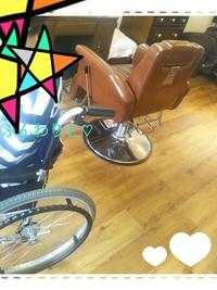車椅子でも美容院、カット、カラー、パーマ出張美容も