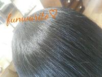 ヘナのオレンジも白髪がすくなめや、トリートメントとしては髪に艶が