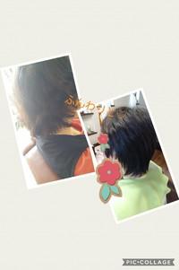 くせ毛でうねる、ハネル髪にヘナ・ハーブカラーとカット豊田市から 2018/07/03 11:28:13