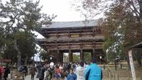 小学生以来の奈良の大仏 2018/12/19 09:21:00