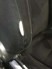 トヨタ 86 モケットシート破れリペア