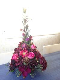 豊田市の自宅お花教室・沙和花 最後のレッスン