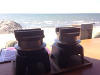 海が目の前!!美浜町の創作和食×創作イタリアン納屋で釜飯ランチ