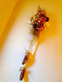 豊田市のお花教室「沙和花」で12月レッスン