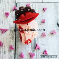 バレンタインソープカービング★艶やかで色っぽい唇を石鹸で作ってみましょう!
