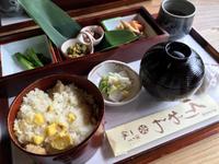 栗おこわ膳を食べに満天星一休まで中津川オール下道ツーリング
