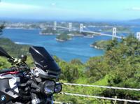 四国バイク旅③ しまなみ街道~姫路城~帰宅
