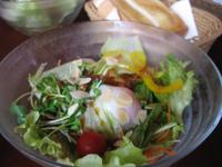 豊田市南部若林の暖香(だんか)で新鮮サラダモーニング