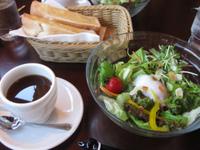 豊田市南部でサラダモーニング『珈琲家 暖香』
