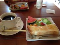 サンドイッチ&ガレットのカフェボヌールでモーニング 岡崎市
