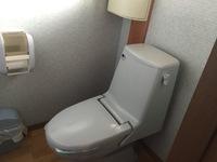 旧型トイレのリモコン