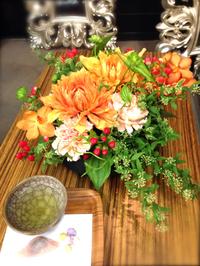 (豊田市 花 アレンジ教室)4月Flower lesson