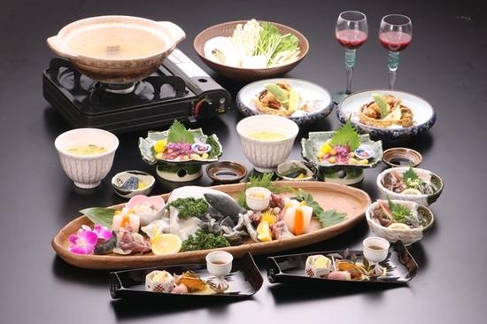 花屋敷のお肉料理コース