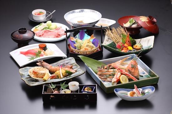 花屋敷の懐石コース料理