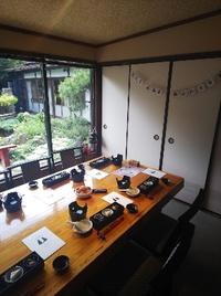 両家の顔合わせ  名古屋と豊田市よりご両親がみえました