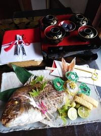お食い初めの御祝い  三好と東海市より個室 鯉の部屋