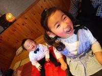一歳のお誕生日御祝い  一升餅と選びとりの儀式