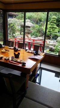 一番人気!お庭を眺めながら個室のお食事会