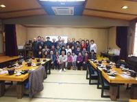 豊田市卓球クラブ忘年会 カラオケ・ビンゴー大会