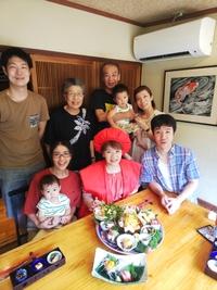 還暦祝い 60歳 赤いちゃんちゃんこと御祝い膳
