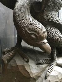 ランプの館にある木彫り紹介