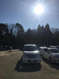 針名神社で 初詣の間待機! 日本が誇る世界の有名運輸会社様の 新年会送迎
